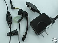 OEM Verizon Headset+Wall House Charger LG VX8300 VX9800 VX6100 VX5200 VX6200 VX6190