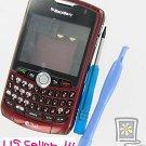 OEM Burgundy Housing Case+Tool Kit Alltel BlackBerry 8330 Curve