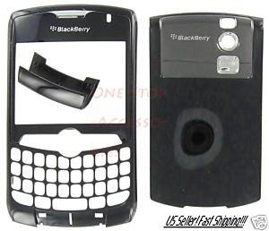 RIM Blackberry Curve 8330 Black Housing Case Metro PCS