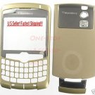 Gold Blackberry Curve 8300 8310 8320 Housing Case AT&T