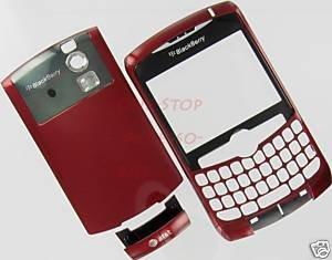 Red AT&T RIM Blackberry Curve 8300 8310 8320 OEM Housing Case