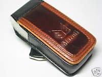 Leather Case Pouch Sony-Ericsson T290a T630 T637 W910 W580 W200 W610 W810