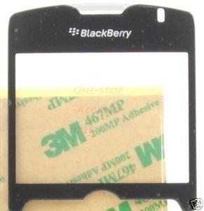 Black Telus BlackBerry Curve 8330 Screen Cover Lens