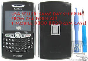 T-Mobile BlackBerry 8800 8820 Original Complete Housing Case