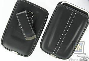 Leather Case Pouch With Belt Clip For Apple iPhone 3G 3GS 8gb 16gb 32gb