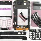Pink Genuine OEM BlackBerry 8330 Curve Complete Housing US Seller
