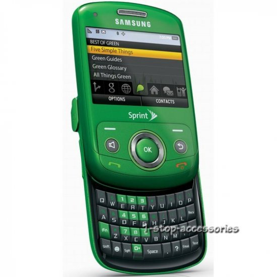 Used Samsung SPH M560 Reclaim Phone QWERTY 3G Sprint US