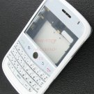 White OEM BlackBerry Bold 9000 Full Housing Case Cover