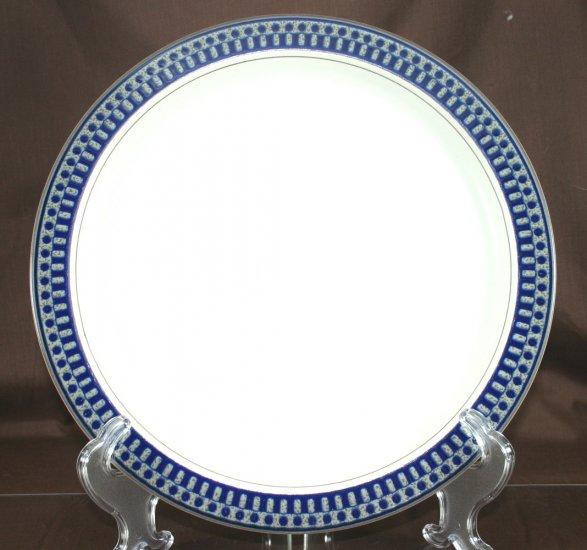 Mikasa Aztec Blue Dinner Plate