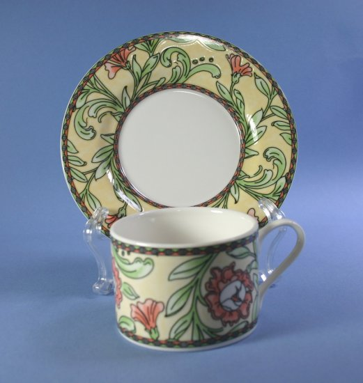 Oneida China EDEN Cup and Saucer Sets (Flat)