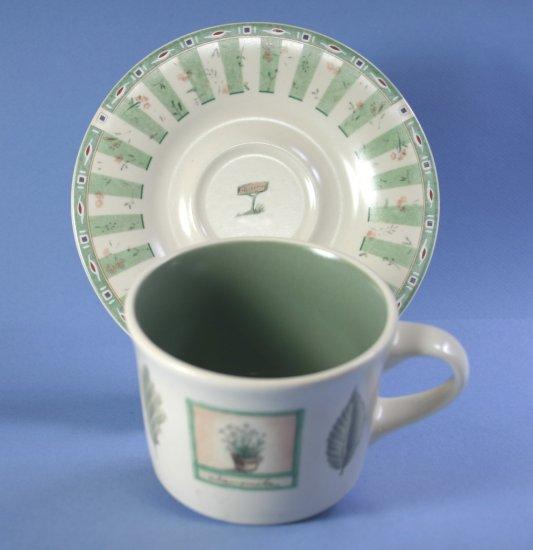Pfaltzgraff Naturewood Cup and Saucer Set (Flat)