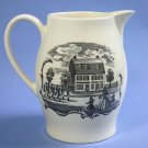 Vintage Wedgwood Etruria Creamware Commemorative Pitcher Gerson Fox Store - Hartford CT 1847