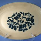 Pfaltzgraff Folk Art Oval Serving Platter #16