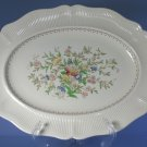 "Royal Doulton MEDFORD D5667 Hand Painted 15"" Oval Serving Platter"