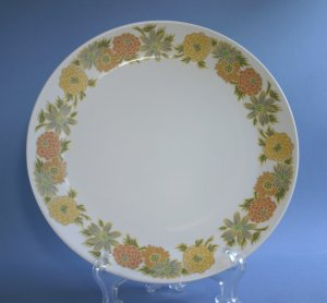 Vintage Noritake Progression SUNNY SIDE 9003 Dinner Plates 10""