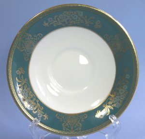 Wedgwood China AGINCOURT BLUE #R4513 Saucer Only