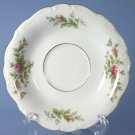 Johann Haviland (Bavaria) Moss Rose Saucer Only