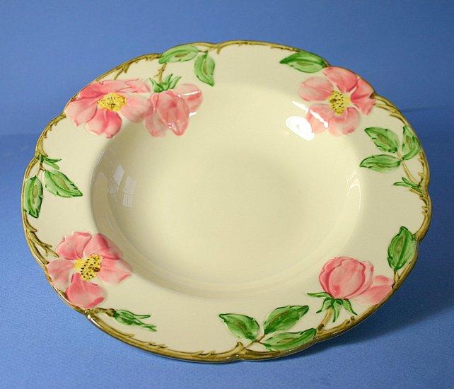 Franciscan Desert Rose (USA) Rimmed Soup Bowl