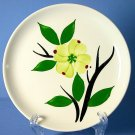 Stetson Pottery DIXIE DOGWOOD 6&quot; Bread and Butter Plate