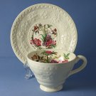 Wedgwood China Wellesley - Nankin Cup and Saucer Set (Footed)