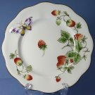 "Coalport STRAWBERRY (SCALLOPED) 5"" Bread and Butter Plate"