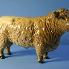Beswick Galloway Bull Silver Dunn Model No 1746C