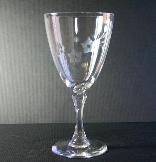 "Lenox Crystal BROOKDALE 7"" Water Goblet Glass"