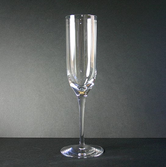 """Tiffany & Co Crystal Classic (U-Shaped Bowl) 9"""" Fluted Champagne Glass"""