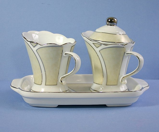 T. Bavaria Germany Design Sugar and Cream 3 piece Set
