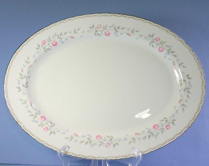 """Rose China COLEBROOK 45/142 16"""" Oval Serving Platter"""