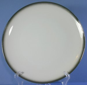 Sango 6175 Grey Mist 10&quot; Dinner Plate