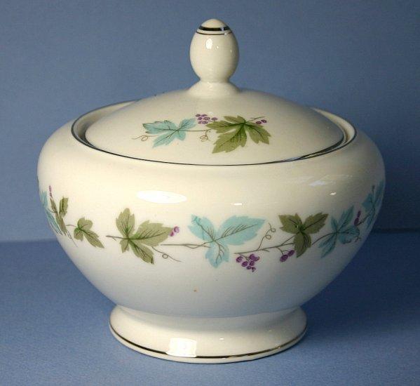 Fine China of Japan Vintage Sugar Bowl & Lid
