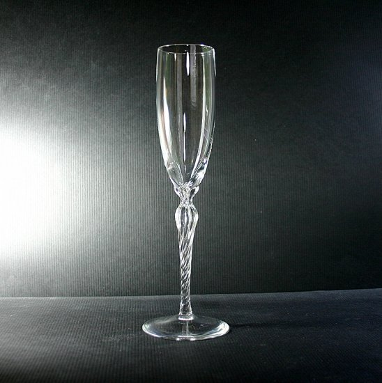 "Lenox Crystal Aria 9"" Fluted Champagne"