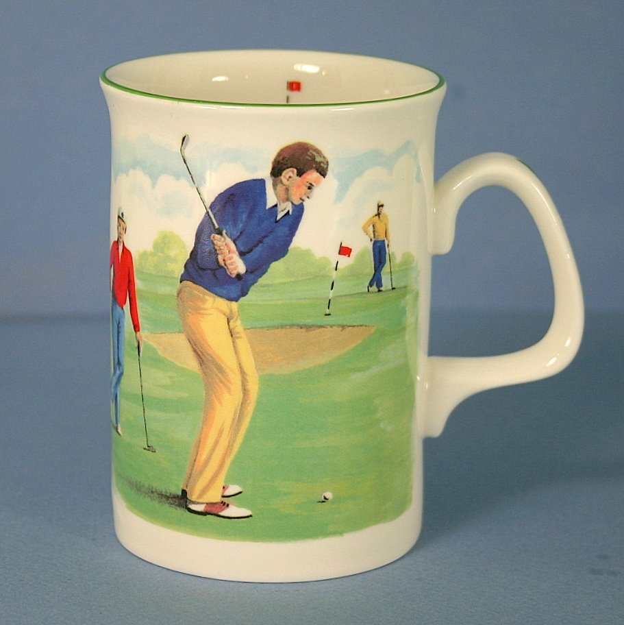 Duchess Golfers Cappuccino Mug - Chipping