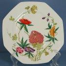 """Ceralene Limoges France Dioraflor 8"""" Octagonal Luncheon Plate"""