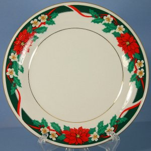 Tienshan Deck The Halls (Verge) 7&quot; Salad Plate