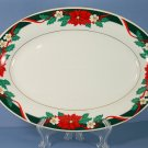 Tienshan Deck The Halls (Verge) Oval Serving Platter