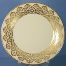 "Pickard Ensemble Gold 8"" Salad Plate"
