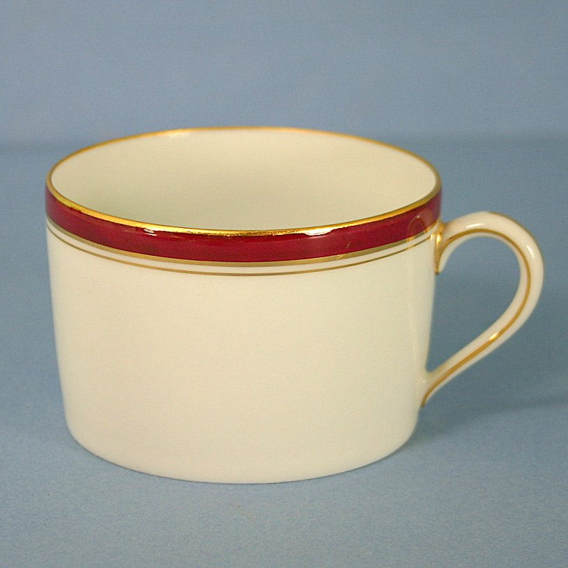 Charles Field Haviland Ambassade - Vermillion Cup Only (Flat)