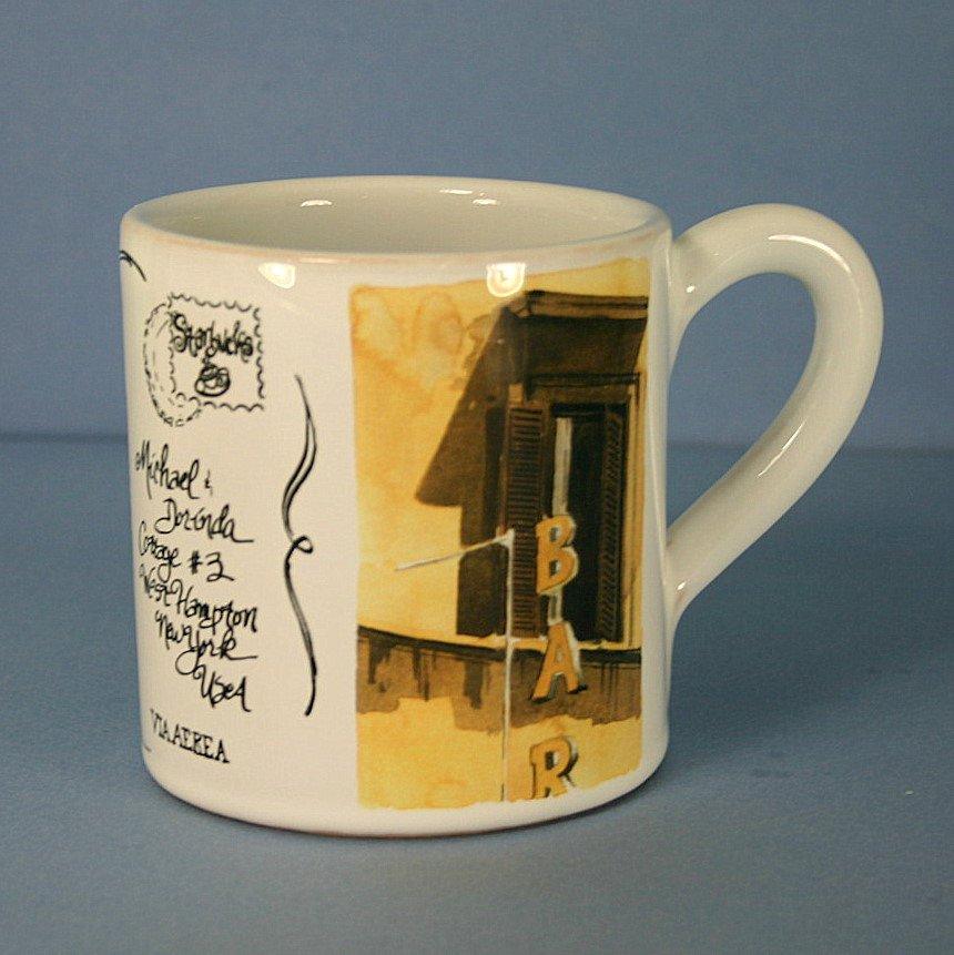 Starbucks postcards from italy coffee mug roma cafe for Starbucks italie