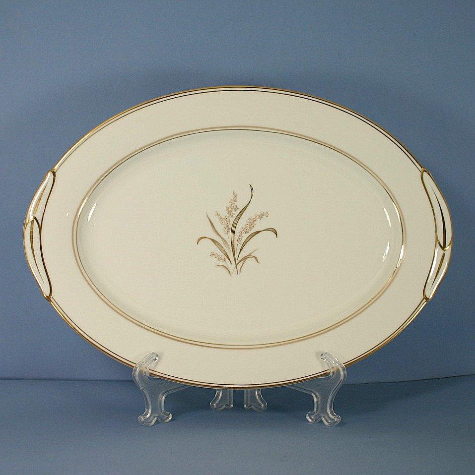 "Noritake Neville 13"" Oval Serving Platter"