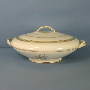 Noritake Neville Round Covered Vegetable Bowl