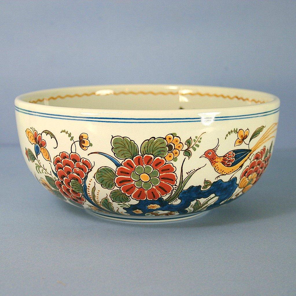 "Royal Delft, De Porceleyne Fles Polychrome 7.5"" Bowl"