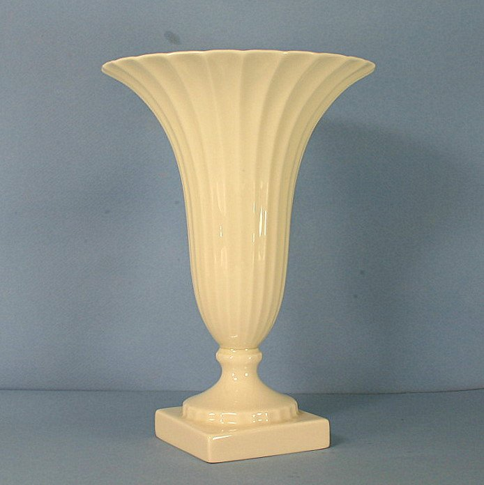 "Lenox Regal Collection 8"" Fluted Trumpet Vase"