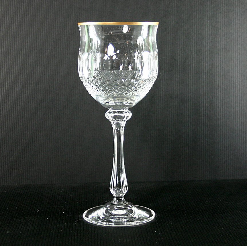 Mikasa Gold Crown Wine Glass