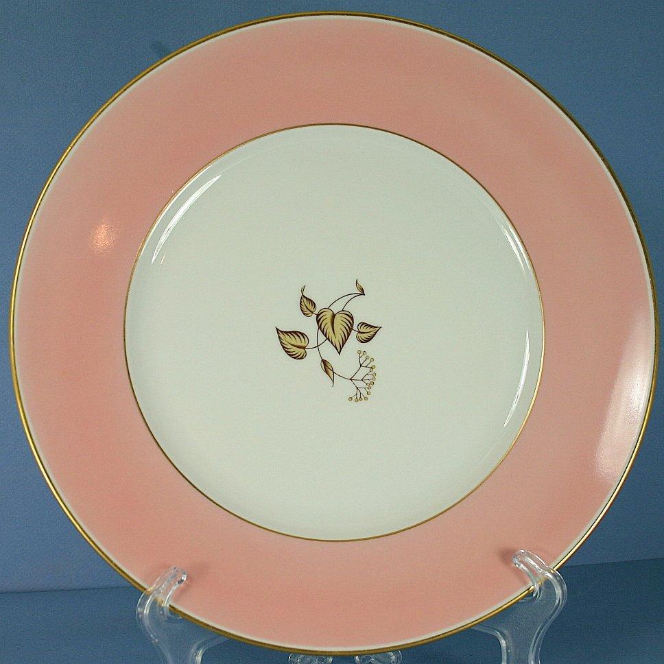 Furstenberg Falling Leaves Dinner Plate
