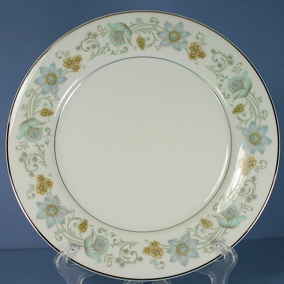 "Rose China (Japan) Floris 10"" Dinner Plate"