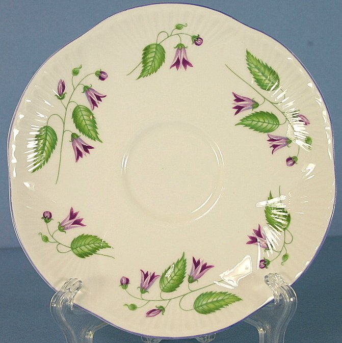 Shelley Campanula (Dainty) Saucer Only
