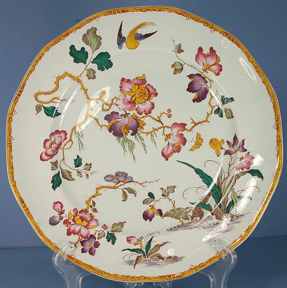 Wedgwood Devon Rose Dinner Plate