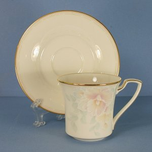 Noritake China Sweet Surprise Cup and Saucer Set (Flat)